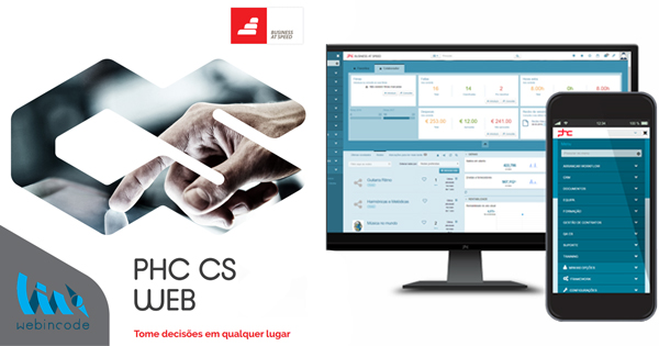 PHC CS Software na Web
